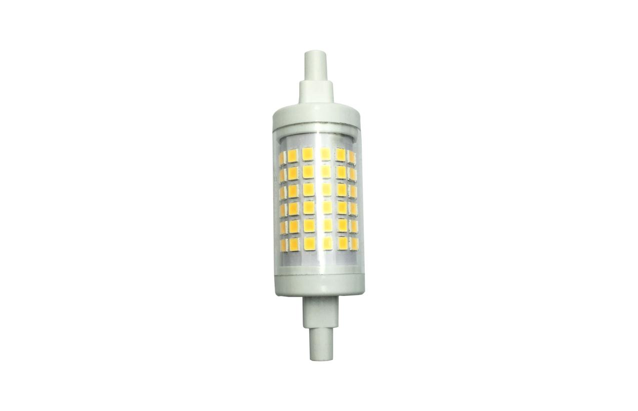 Lâmpada LED R7s 7W 3000K 78mm