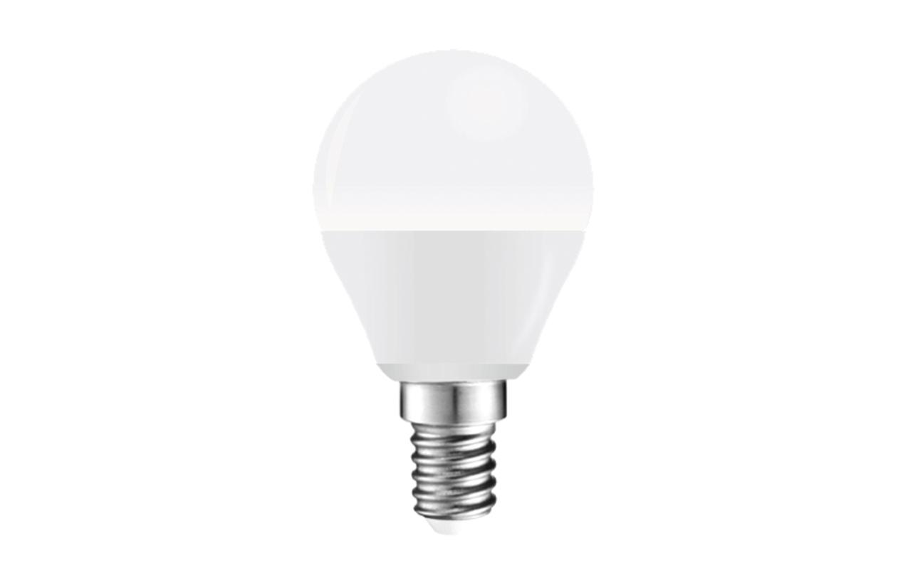 Lâmpada LED Esférica E14 5,2W 6400K