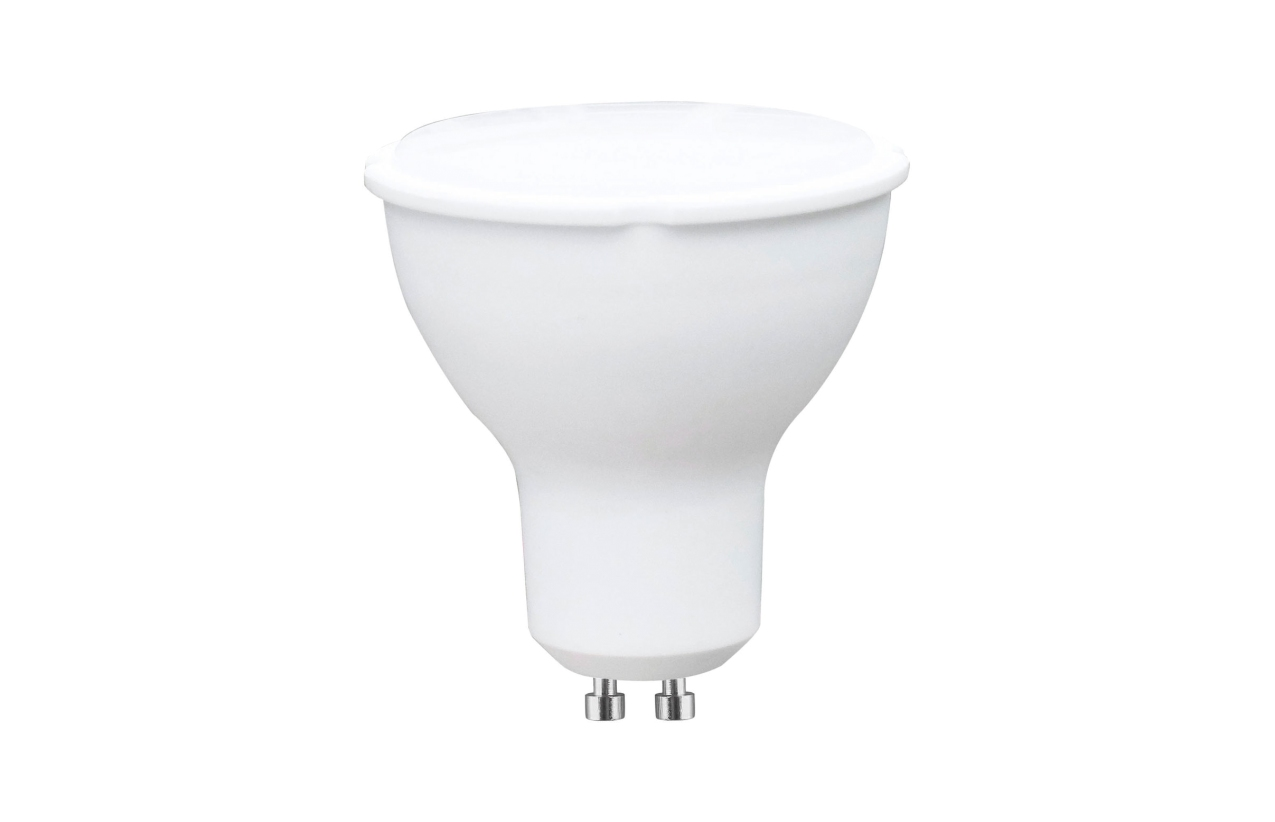 Lâmpada LED GU10 100º 5W 6400K