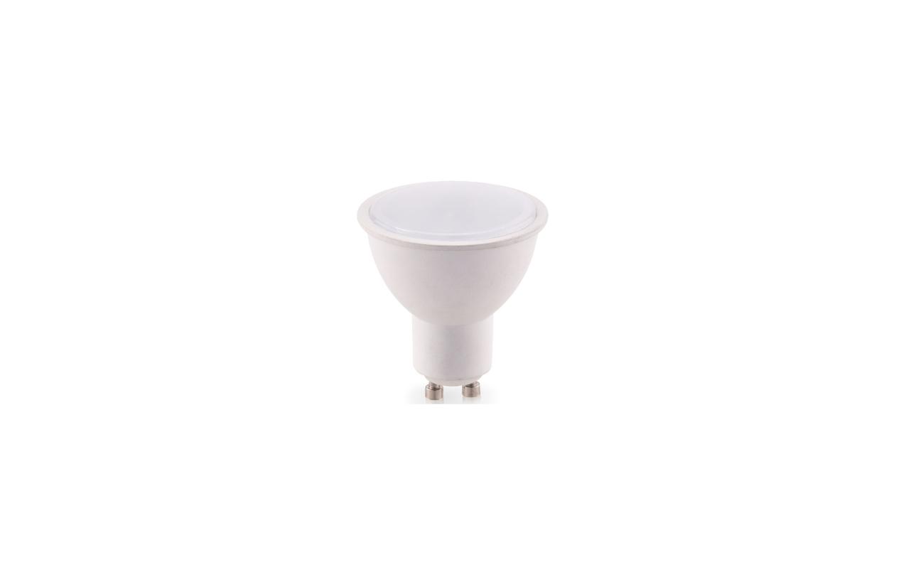 Lâmpada LED GU10 100º 7W 4100K