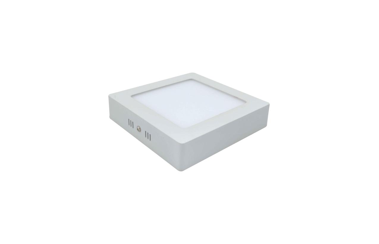 Painel quadrado saliente LED 12W 4200K