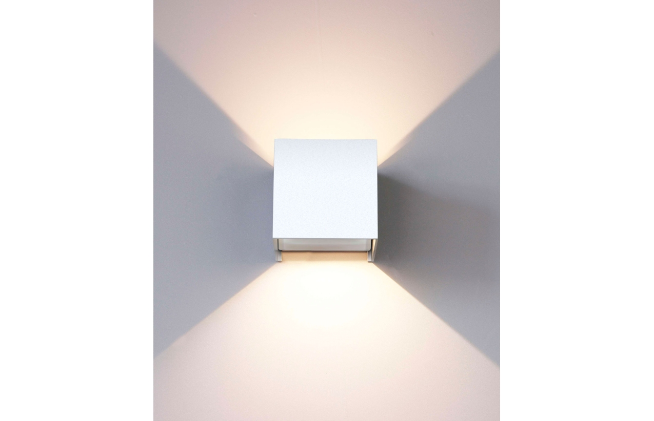 Aplique LED 2 x 3W IP54 4000K (branco neutro)