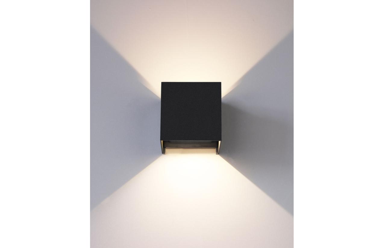 Aplique LED 2 x 3W IP54 4000K (branco neutro)