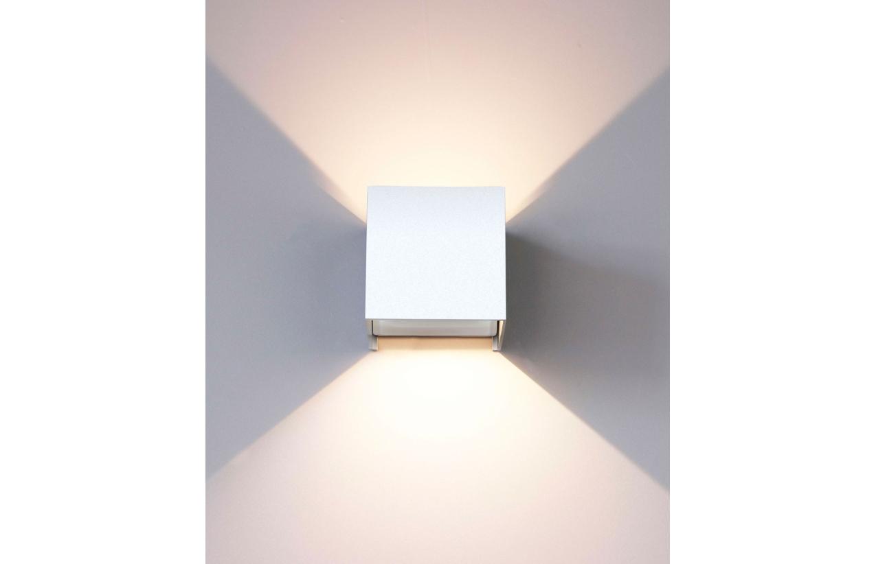 Aplique LED 2 x 3W IP54 3000K (branco quente)