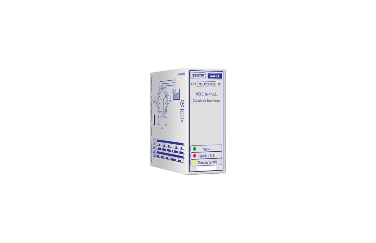 Relé de nível controlo de enchimento 230Vac 411RND20023