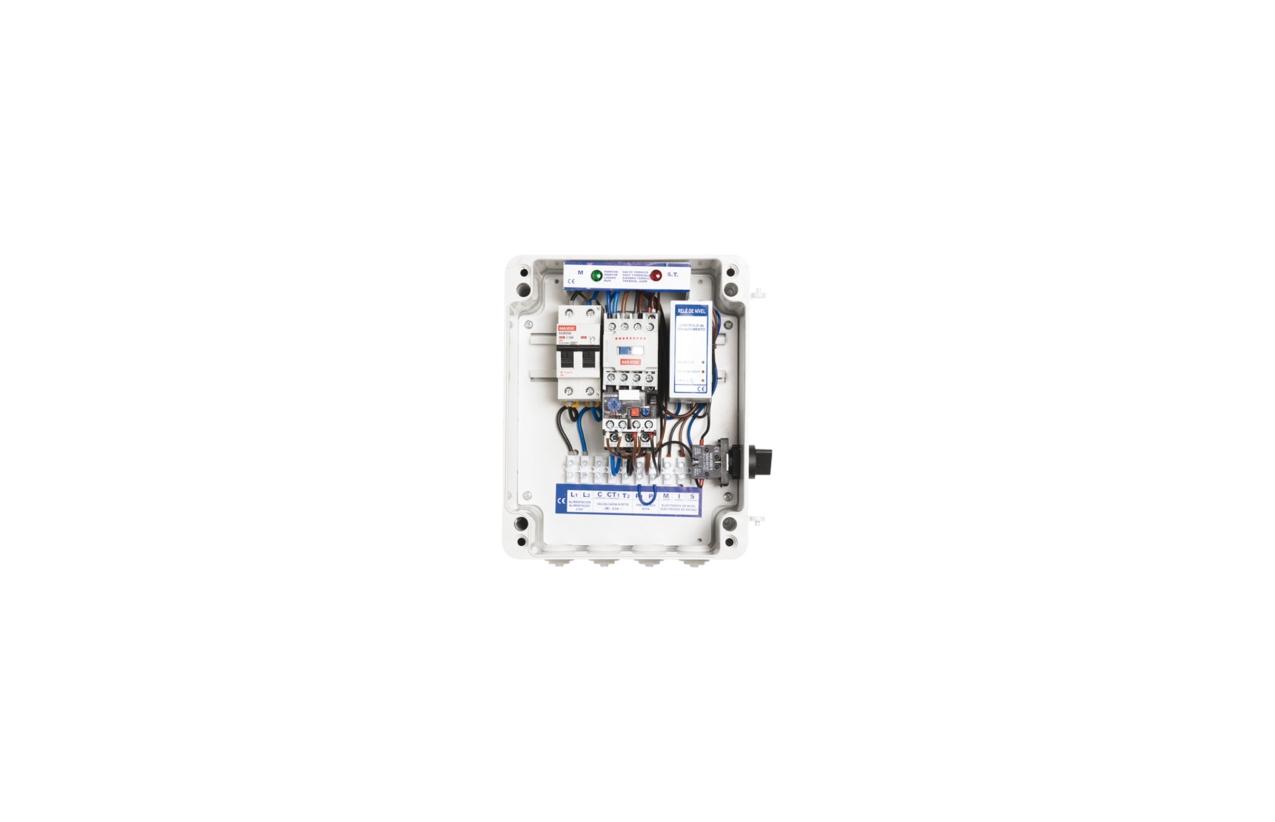 Quadro de proteção por sondas 5,5 - 8A 230Vac