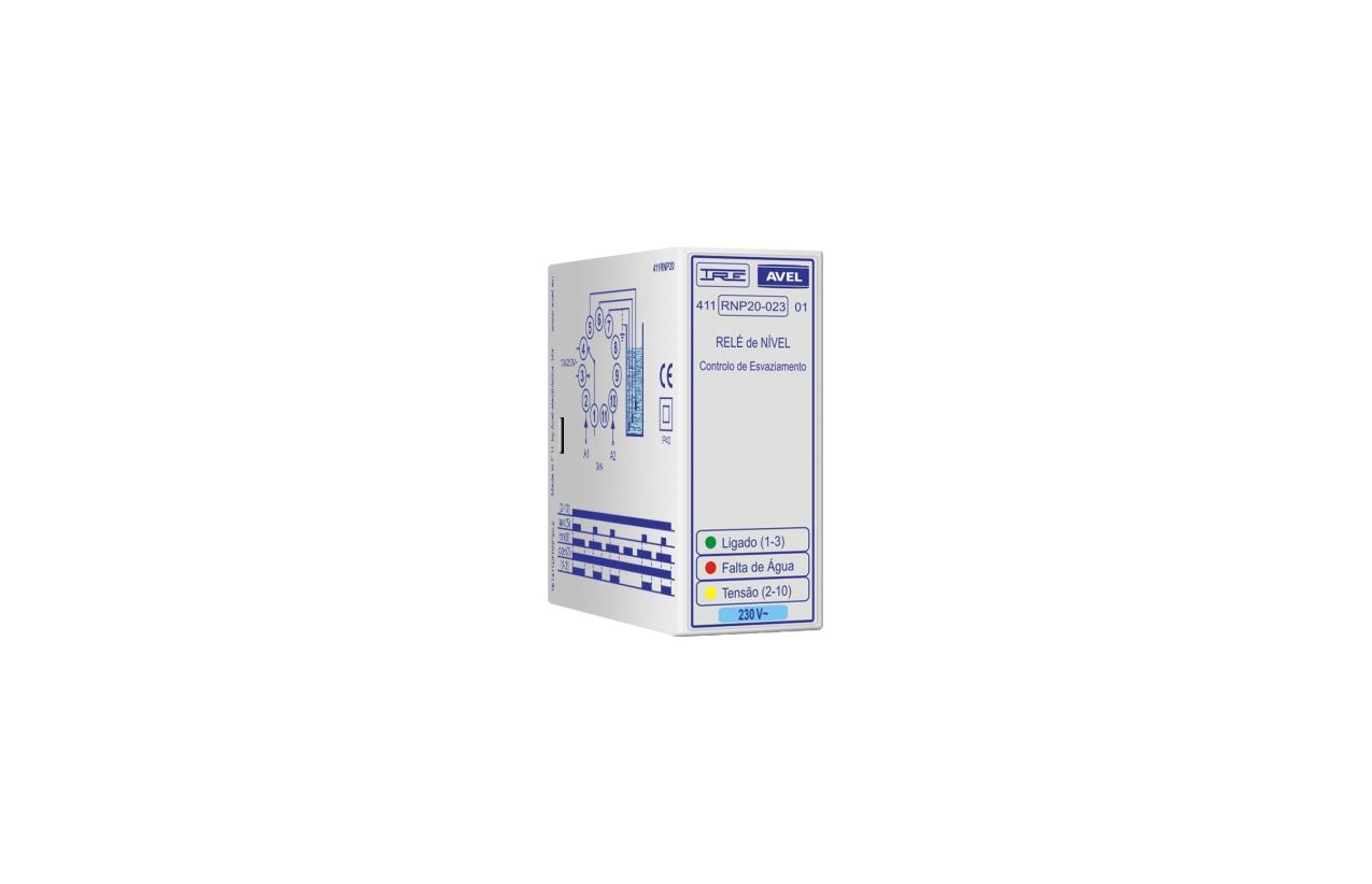 Relé de nível controlo de esvaziamento 230Vac 411RNP20002