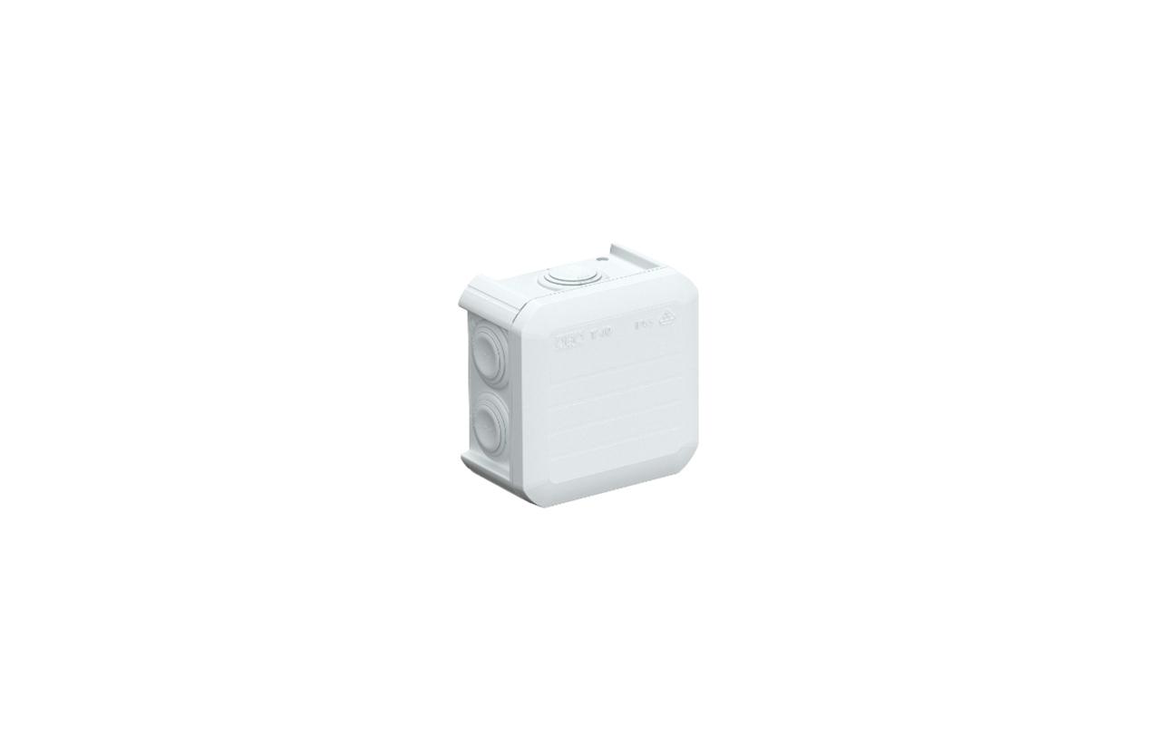 Caixa de derivação TBOX 40 IP55 90x90x52mm