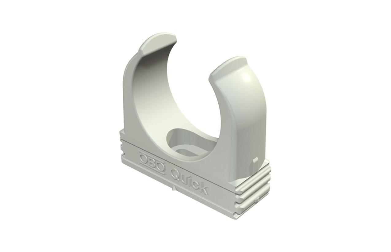 Abraçadeira OBO-Quick Ø16mm cinza 2149004