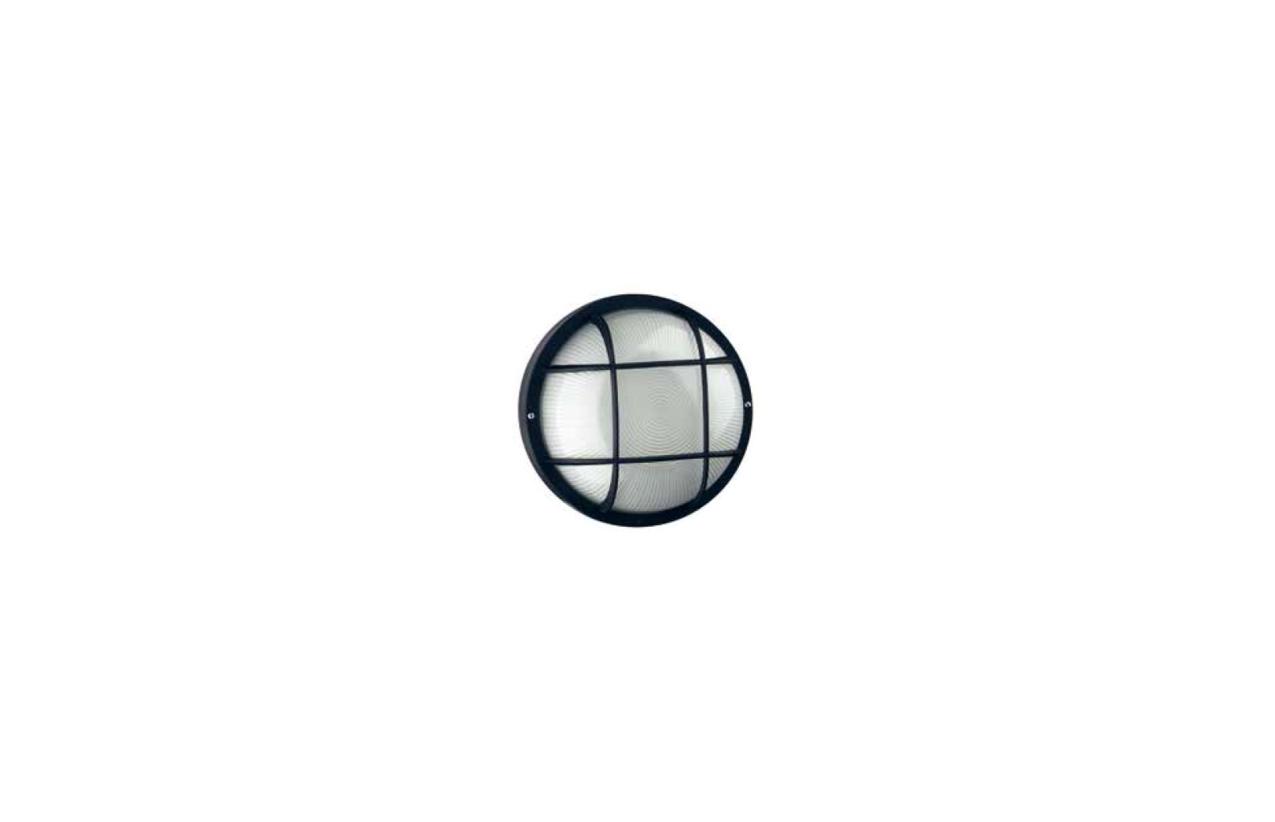 Aplique FAR oval E27 branco107G-G05X1A-01
