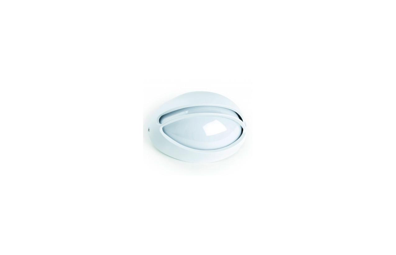 Aplique JEDY IP44 branco 162A-G05X1A-01