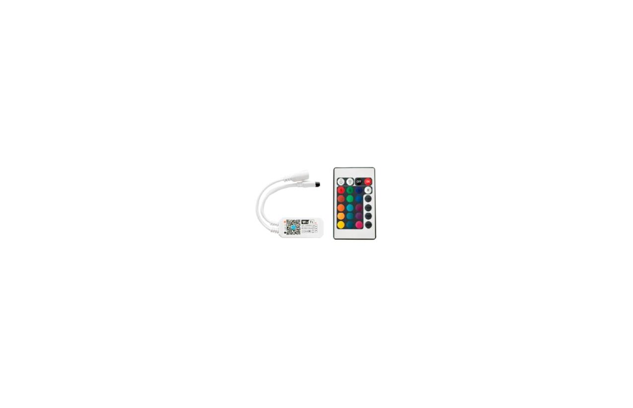 Controlador RGB Wi-Fi 5V/12V/24V 60W/144W/288W