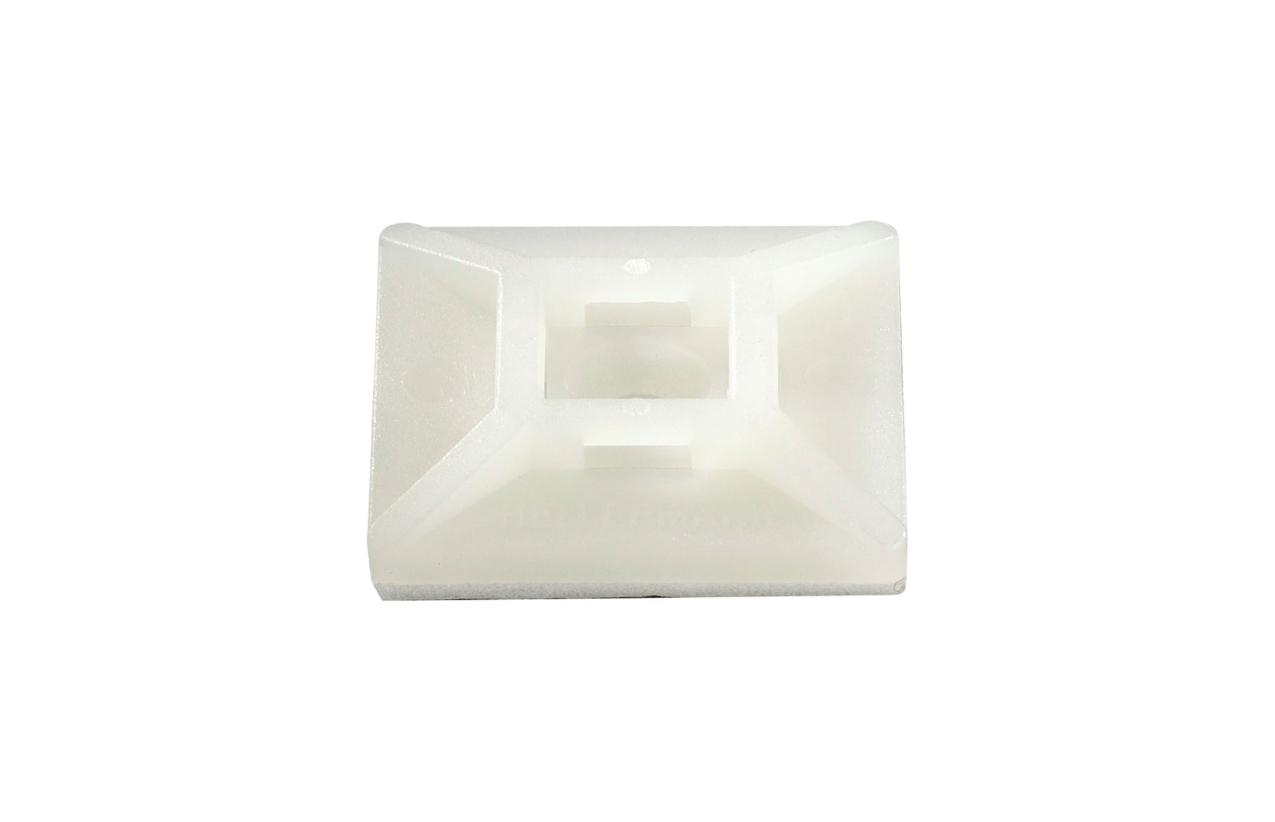 Base adesiva para abraçadeira de serrilha (saco 100 unidades)