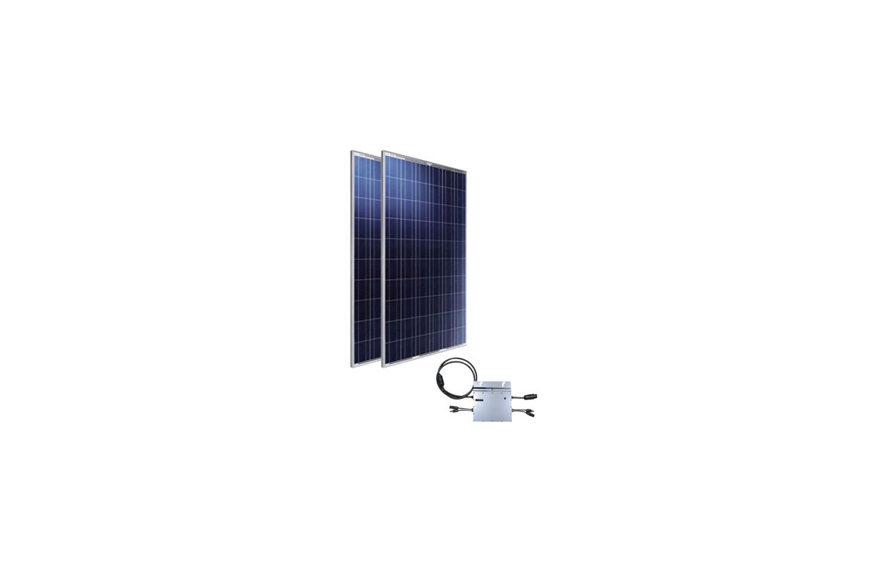 Kit monofásico para autoconsumo fotovoltaico 500W