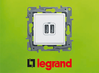 legrand usb small