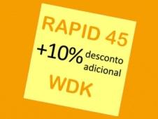 Calhas Rapid 45 e Molduras WDK